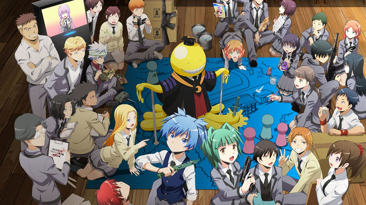 TVアニメ『暗殺教室』第2期は2016年1月放送スタート!新ビジュアルも解禁