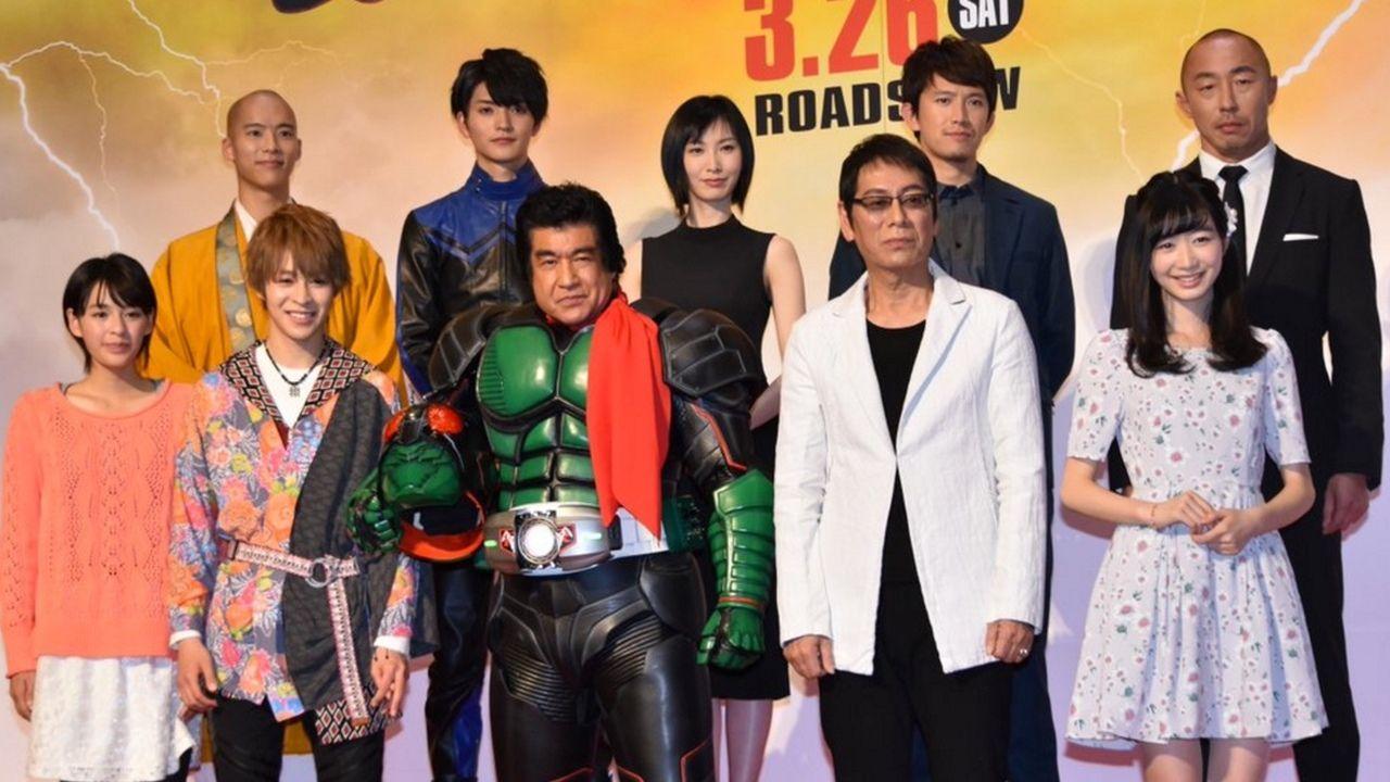 伝説のライダー 映画『仮面ライダー1号』完成披露試写会が昨日開催!最後の変身!