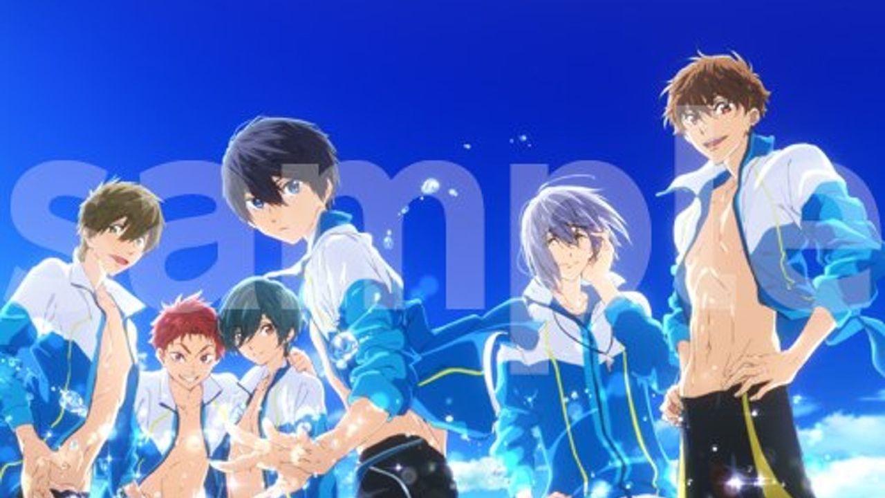 映画『ハイ☆スピード!』Blu-ray&DVD発売決定!描き下ろしジャケットも公開