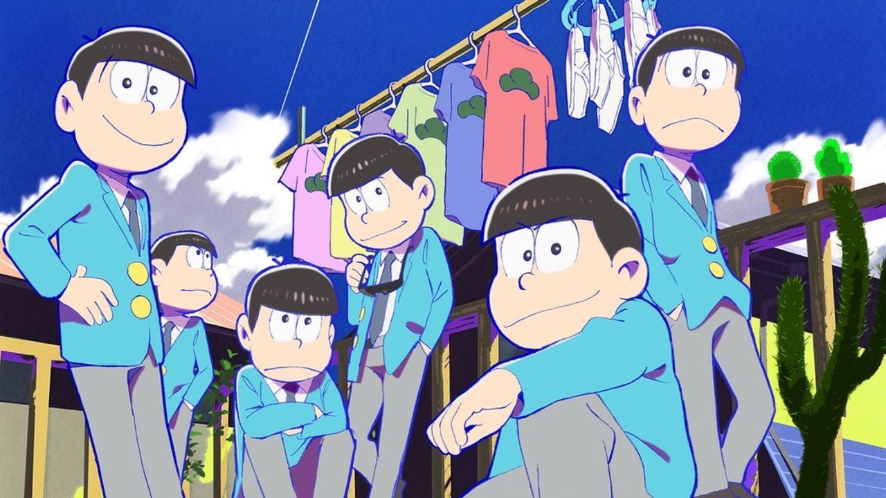 本日『おそ松さん』ニコ生で人気エピソード上映会開催!最終回前に振り返り!
