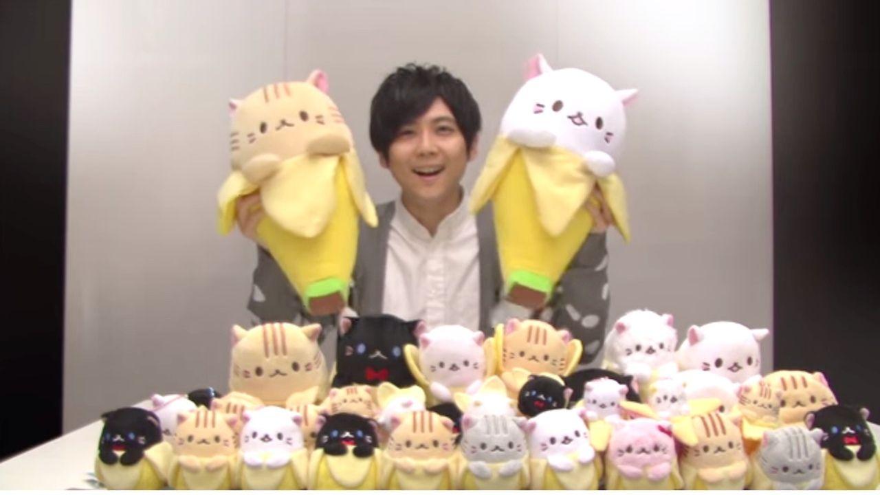 テレビアニメ『ばなにゃ』PV公開!にゃーにゃー鳴く可愛い梶裕貴さんの声必見!