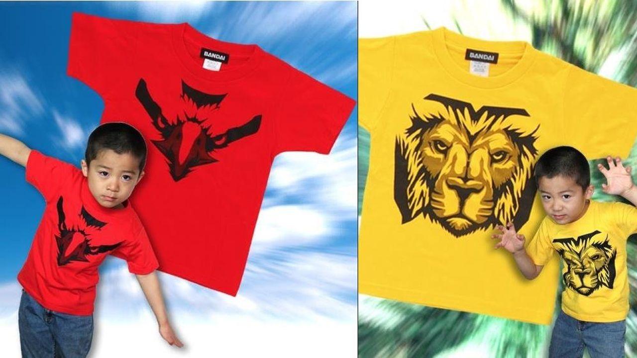 モデルが最高!『ジュウオウジャー』のキッズ用Tシャツが可愛いw大人サイズもあるよ