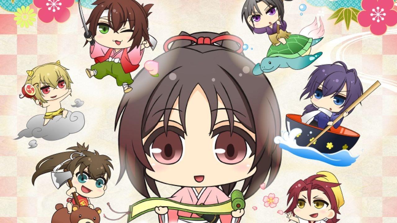 アニメ『薄桜鬼~御伽草子~』放送開始!コラボに、円盤の発売も決定!