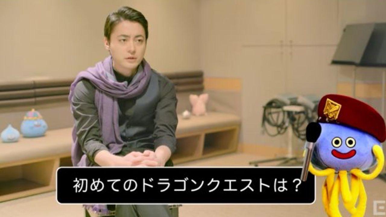 ゲーム『ドラゴンクエストヒーローズⅡ』山田孝之さん出演!見覚えある紫色の布!