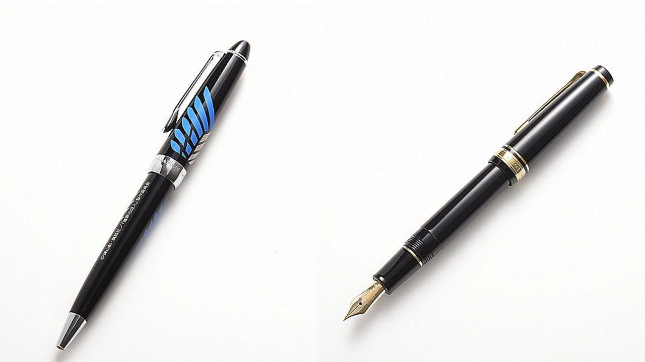 即完売『進撃の巨人×セーラー万年筆』コラボ!万年筆とボールペンが伊勢丹で発売開始