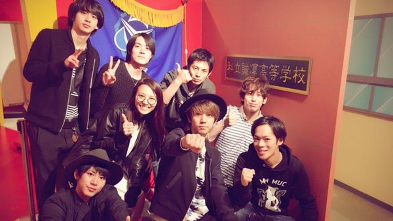 舞台『黒子のバスケ』のキャスト陣がJ-WORLDを満喫!舞台は好評上演中!