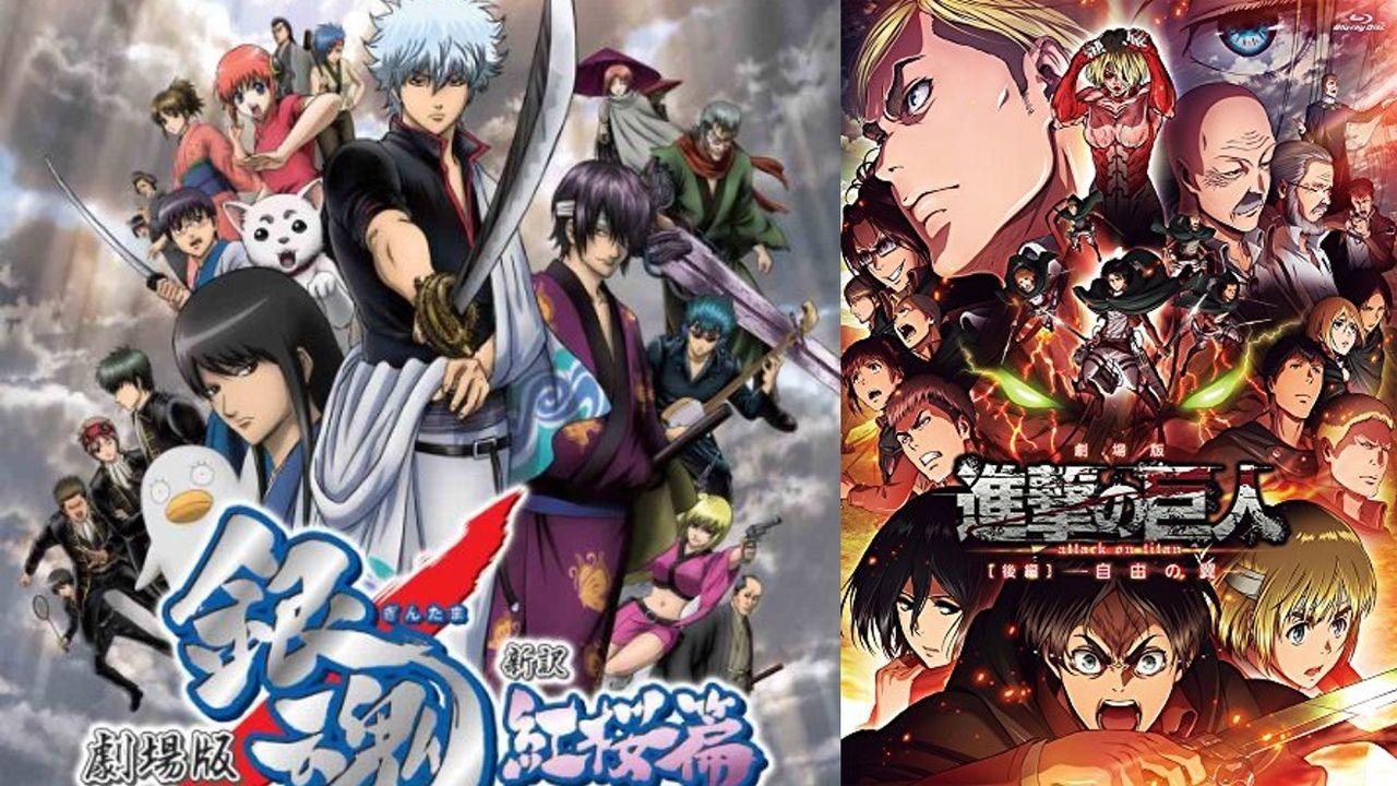 「もっとも戦闘描写が格好良いアニメ作品」ランキング発表!1位はアニメ『銀魂』!