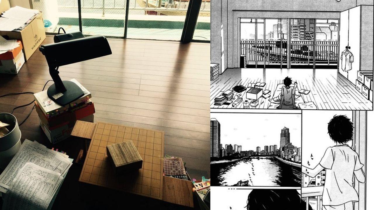 神木隆之介さん主演映画『3月のライオン』零の部屋が原作と変わらない素朴感で素敵!
