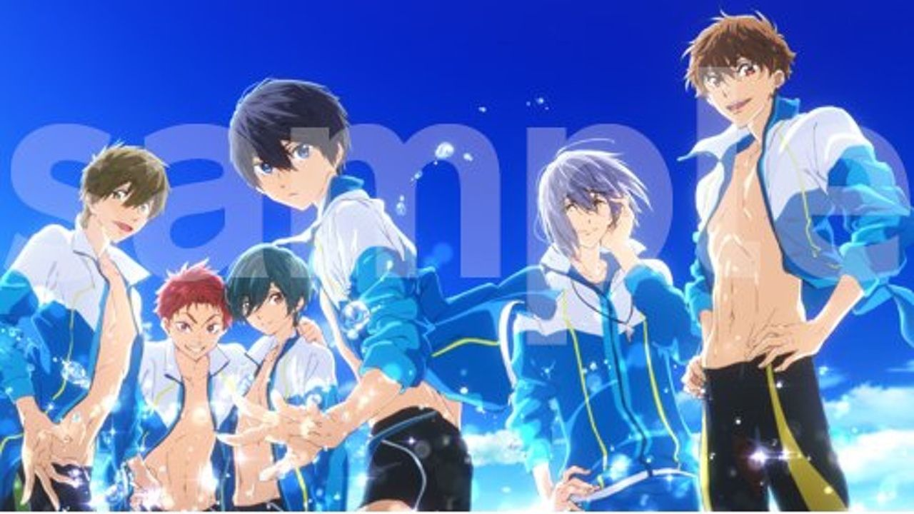 映画『ハイ☆スピード!』Blu-ray&DVDの店舗別特典公開!初回版には追加特典!