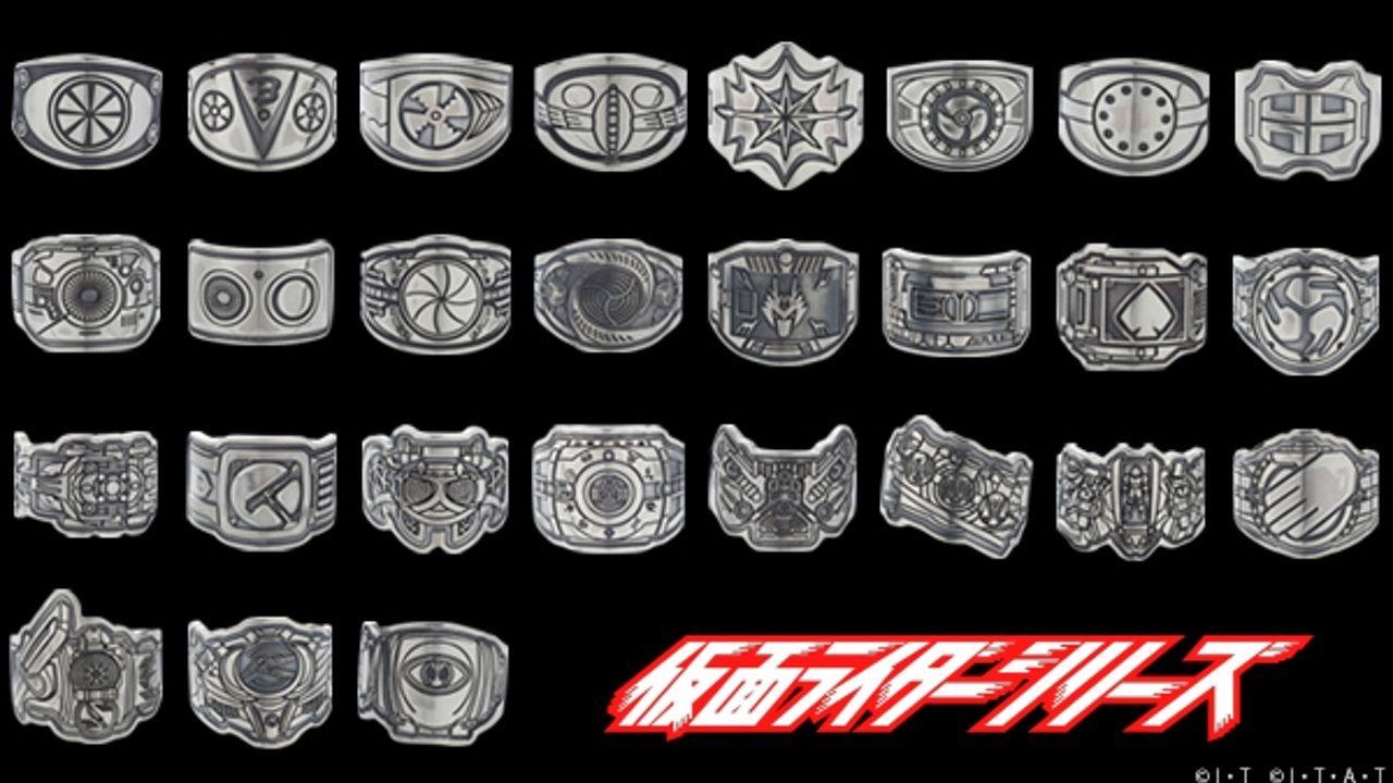 仮面ライダーシリーズ28作品のベルトがモチーフにの指輪が登場!アナタは昭和?平成?どっち?