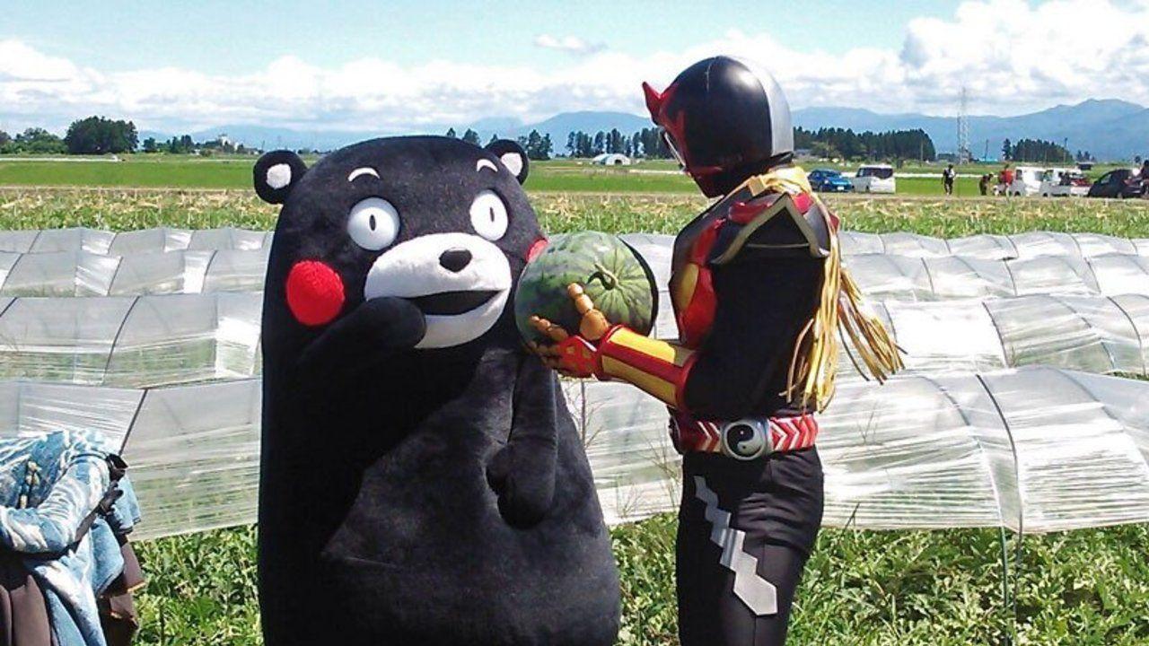 秋田を守る「超神ネイガー」が帰省で賑わう秋田県内の各イオンの店舗をめぐる「募金キャラバン」開催決定!