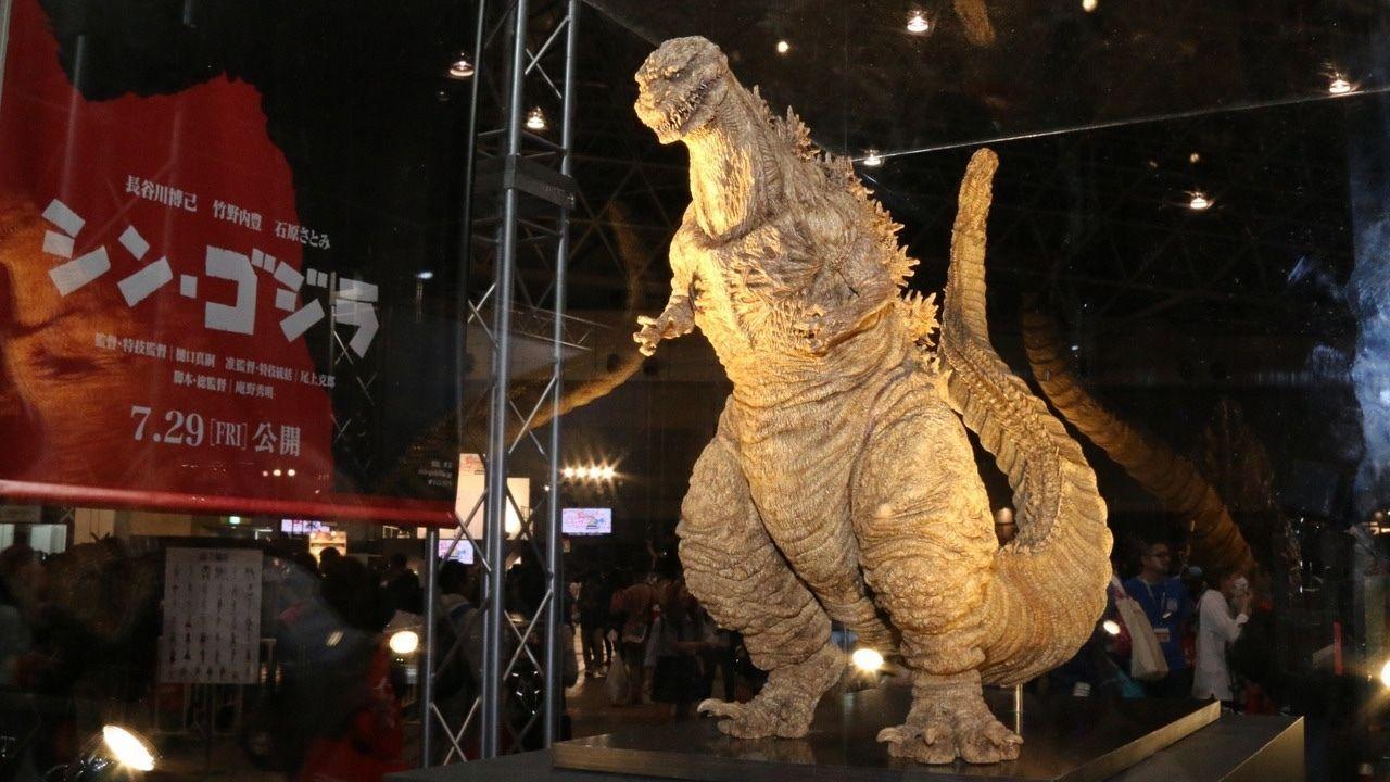 本日29日開催中!ニコニコ超会議2016にシン・ゴジラ襲来!特撮体験も!