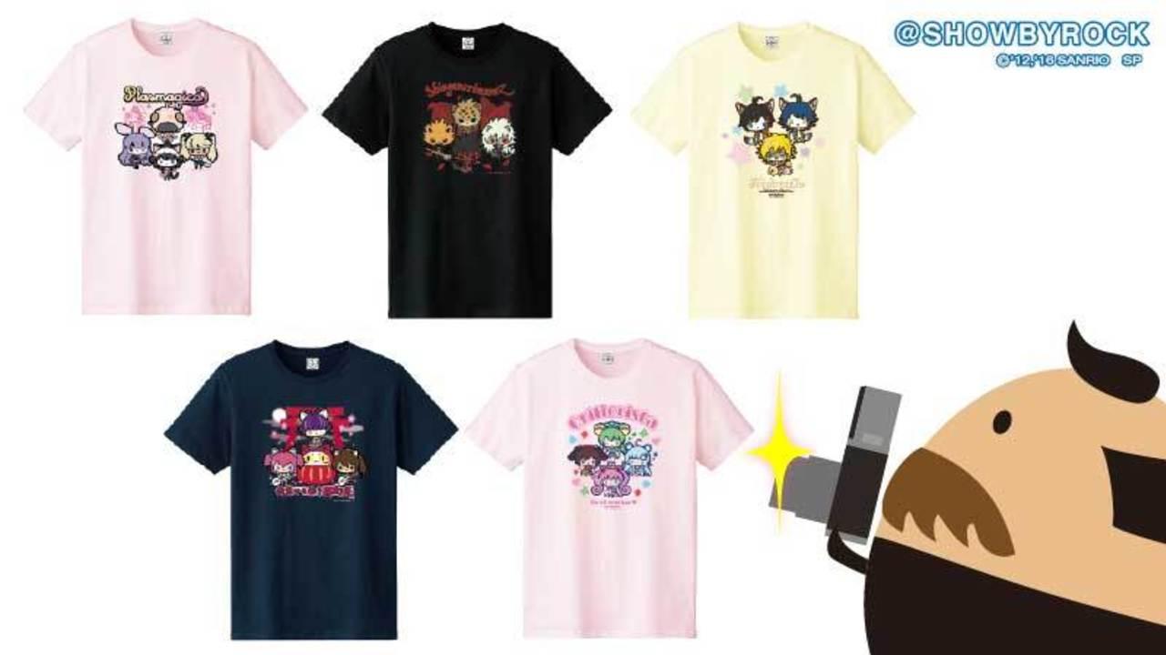 サンリオキャラクター大賞エントリーのキャラクターがTシャツに!誰が一番売れるの!?