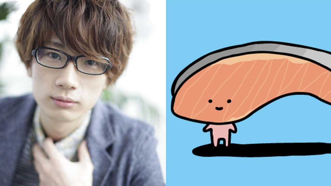 江口拓也さんが描いてくれた似顔絵を見たKIRIMI.ちゃん「ひゃぁぁぁだれ…!」