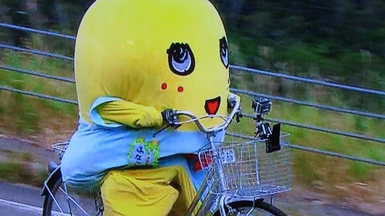 ふなっしー「箱根でめっちゃ追いかけられたなっしー(。゜▽゜)」誰に追いかけられたの?→このキャラはw