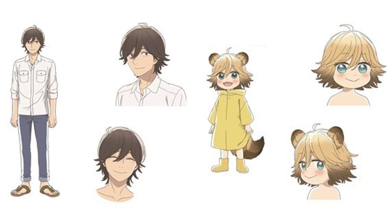『うどんの国の金色毛鞠』アニメキャラビジュアル公開!アニメになってもポコは可愛い!