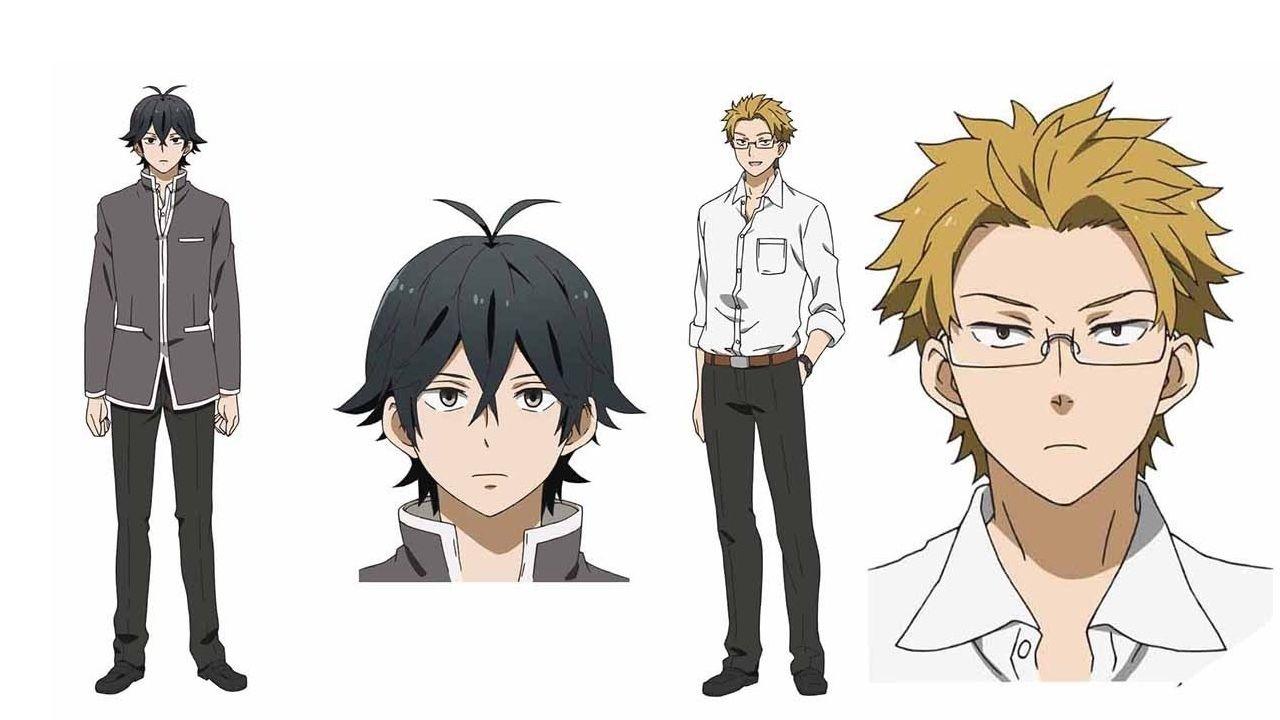 アニメ「はんだくん」キャラクター設定画公開!はんだくん、半田先生どっち派?