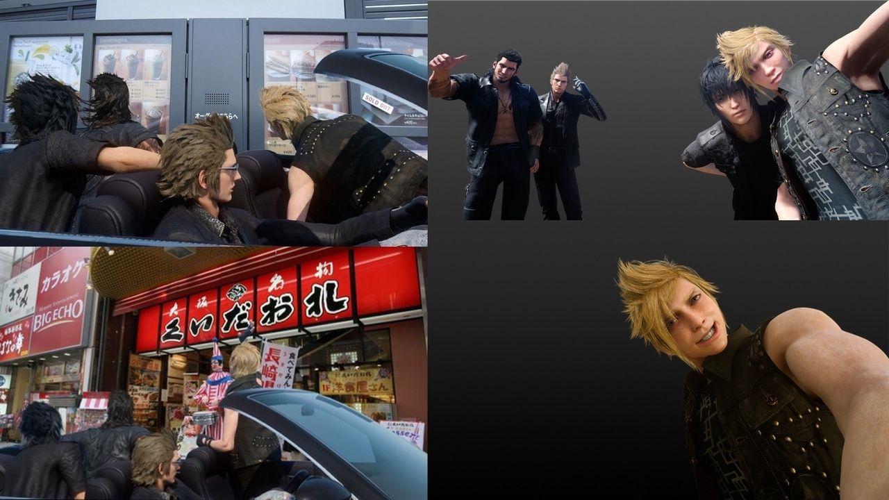 祭り開幕!『FF15』 が新たなコラージュ素材を配布!今回はどんなコラ画像が!?