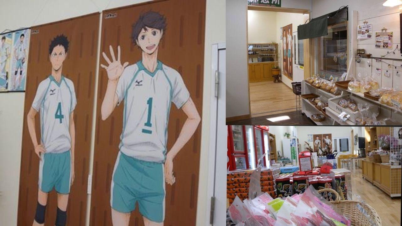 いわいずみに岩ちゃん居るの!?岩泉町で『ハイキュー!!』の岩泉と記念撮影!