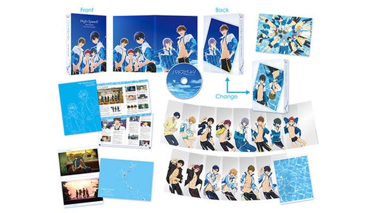 『映画 ハイ☆スピード!』のBD&DVDのジャケット、展開図公開!あの夏が甦る!