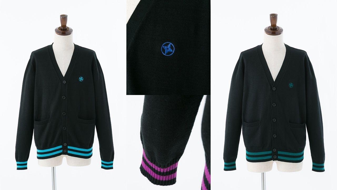 『忍たま乱太郎』各学年のカラーを使用したイメージカーディガン登場!どの学年を選ぶ?