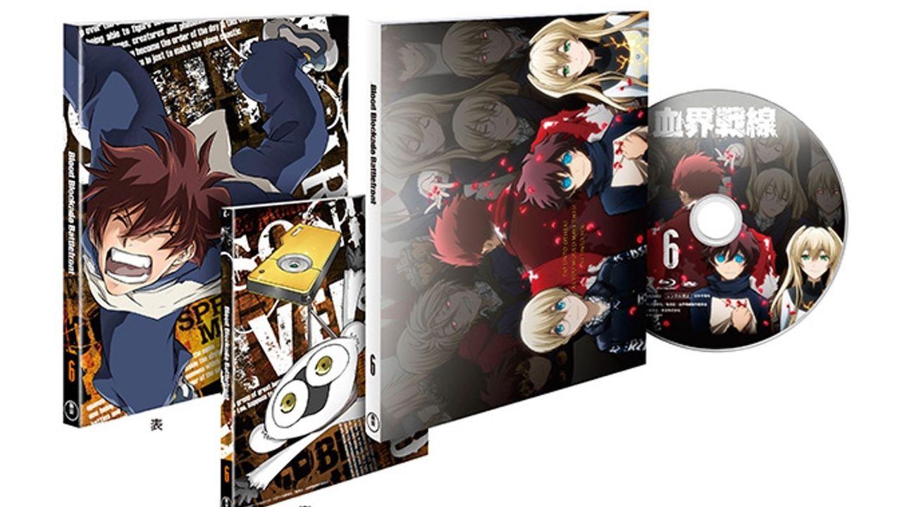 最終話収録の『血界戦線』BD&DVD巻6巻の詳細公開!第5巻はオリコン1位に!
