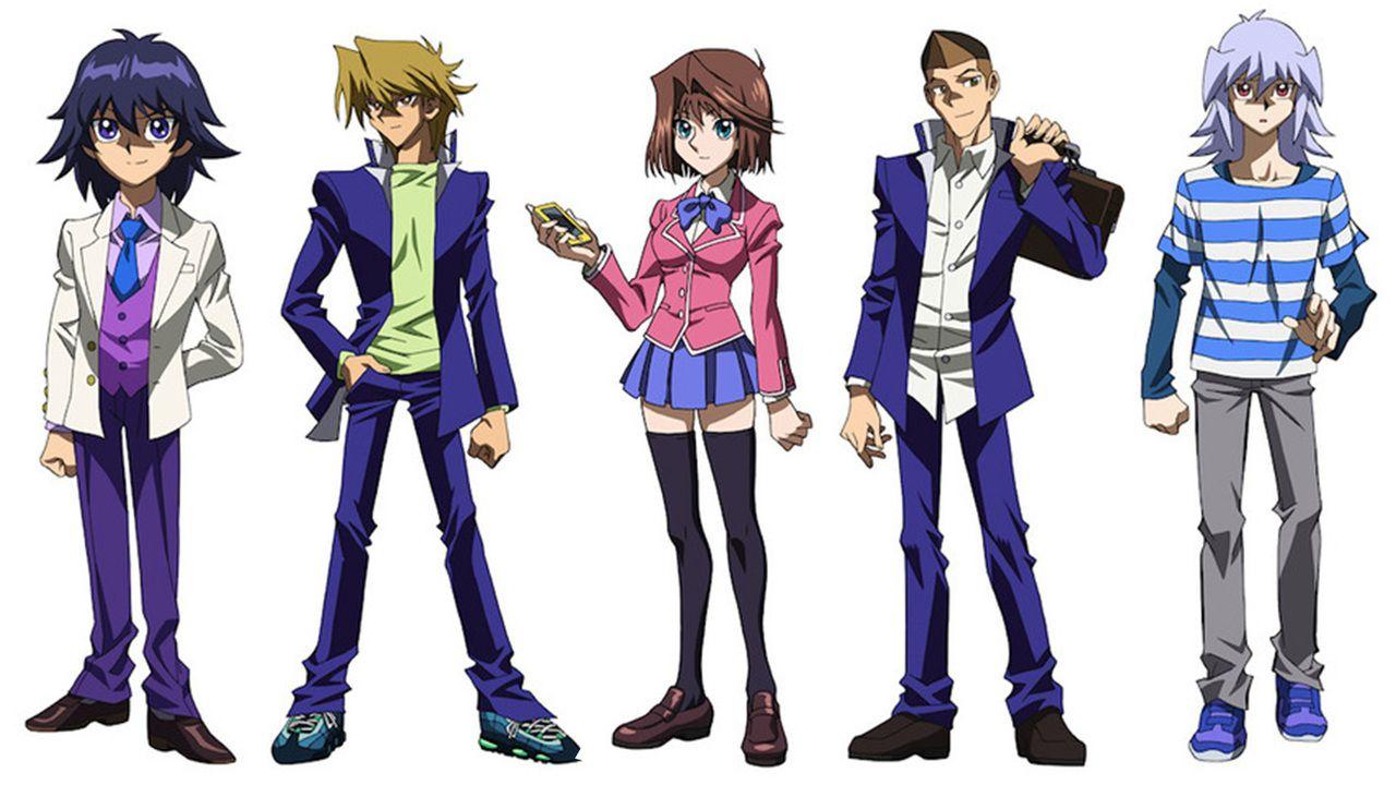 劇場版『遊☆戯☆王』追加キャスト発表、設定画も公開!モクバが成長してるー!