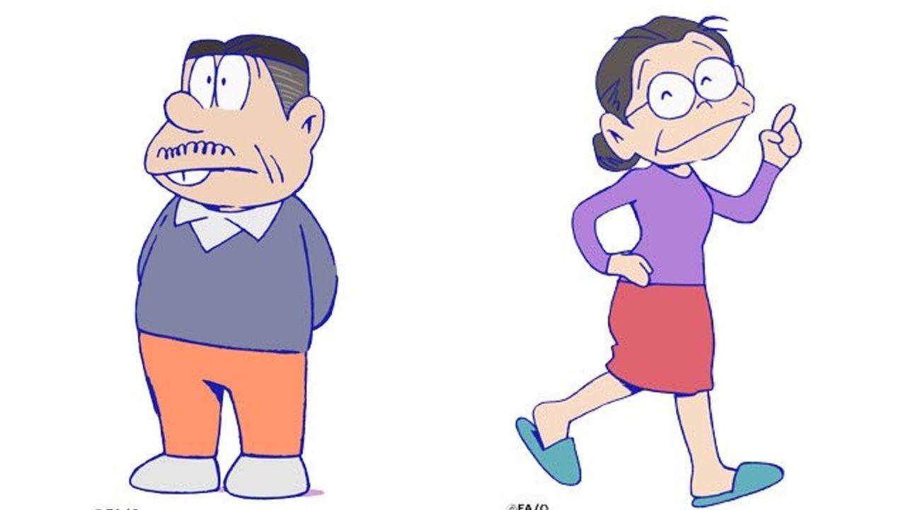 『おそ松さん』追加キャスト発表!6つ子達の父に井上和彦さん、母にはくじらさん