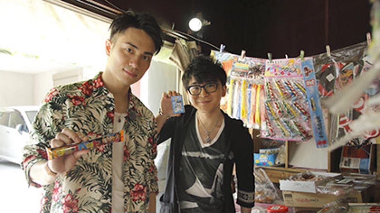 アニメ『だがしかし』にて親友役を演じた阿部敦さんと鈴木達央さんが2人で遠足に!動画も公開!