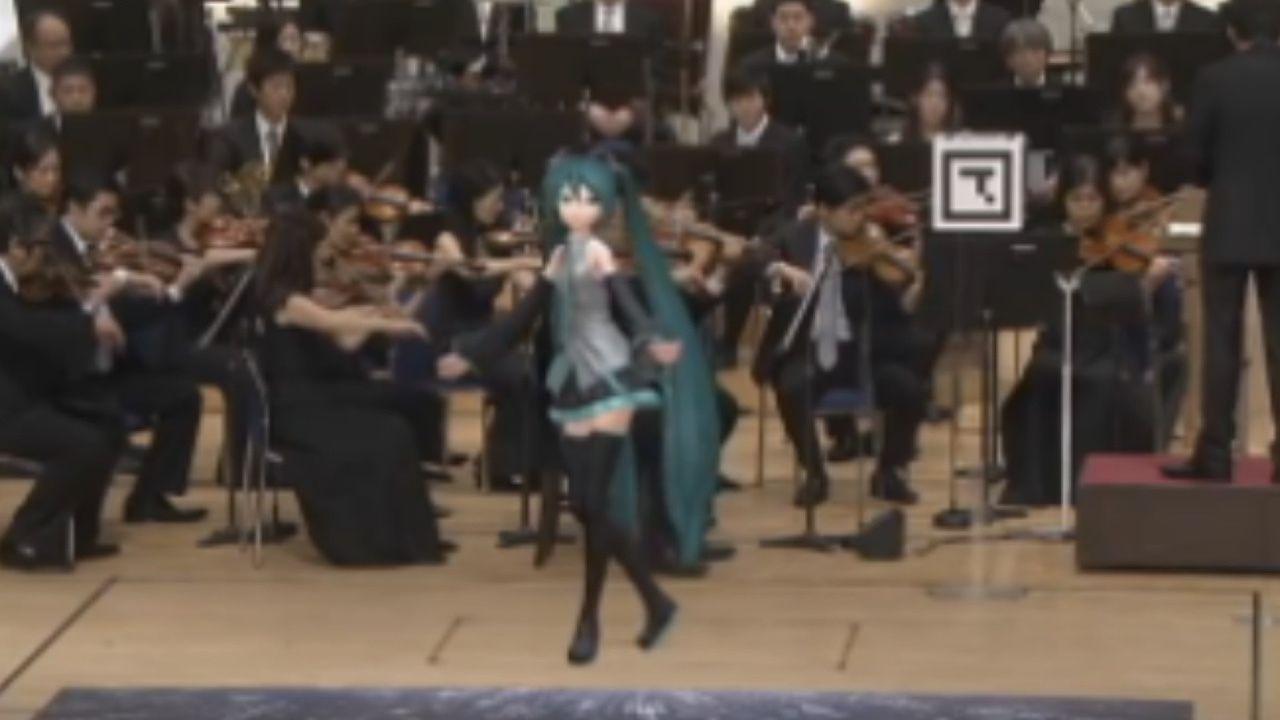 音楽番組『題名の無い音楽会』に初音ミクが出演決定!オーケストラをバックにミクが舞う!