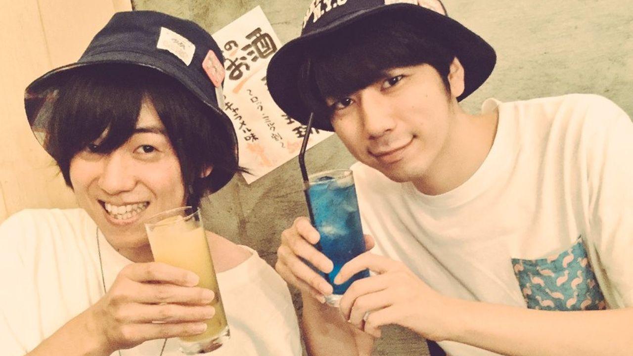 西山宏太郎さんと山下大輝さんで西山下!仲良しメンバーで夏を満喫