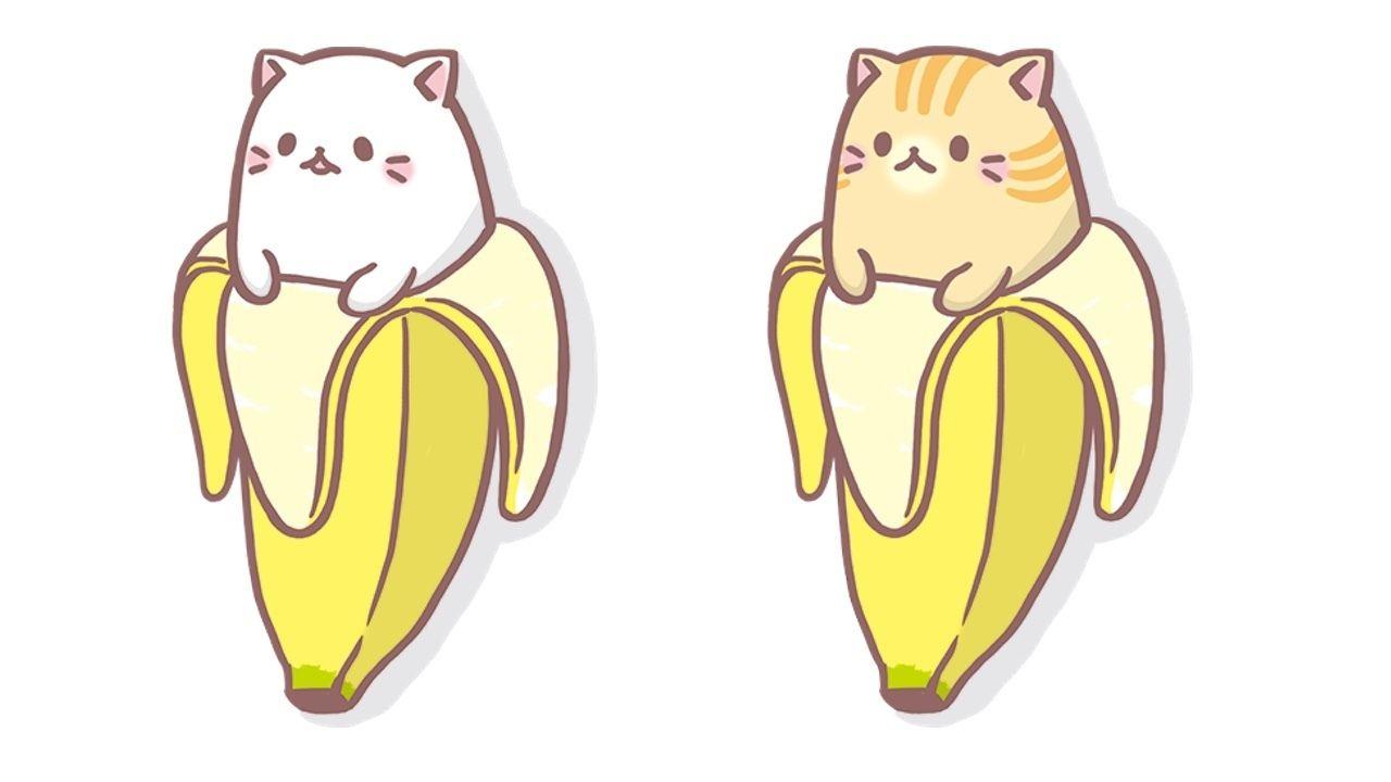 梶さんと村瀬さんがバナナからこんにちは!かわいい『ばなにゃ』に変身!