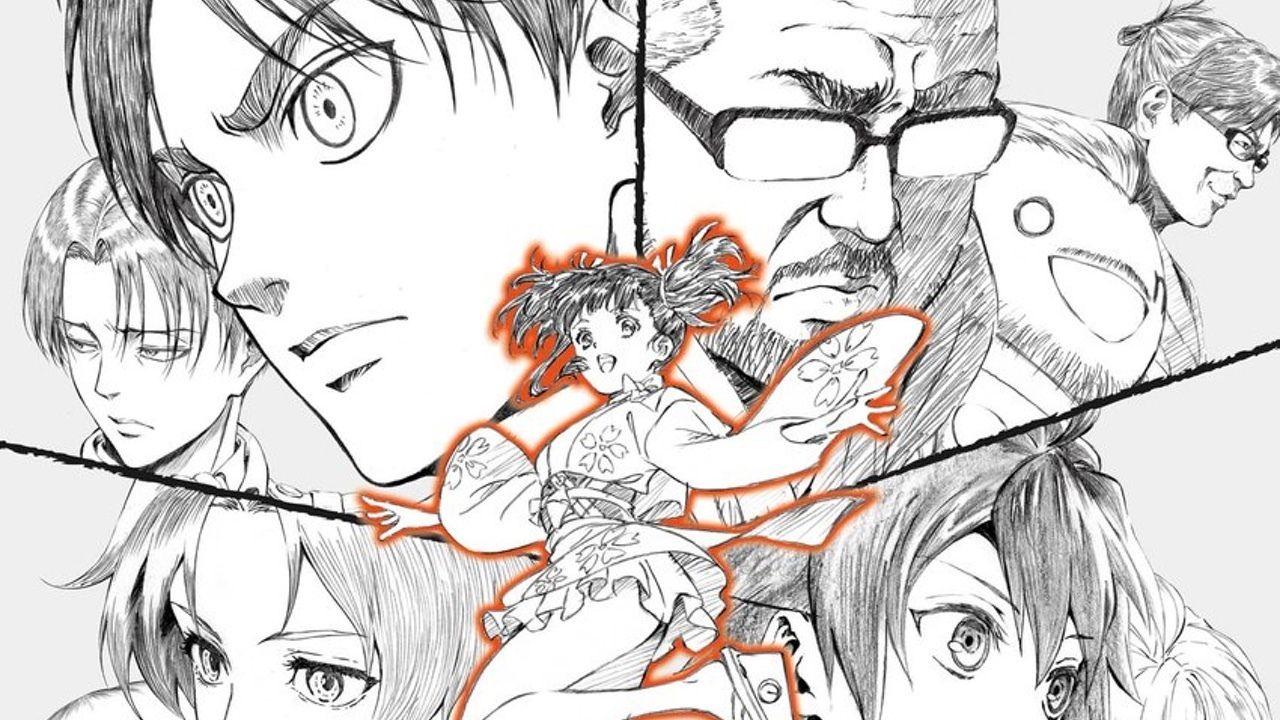 『進撃の巨人』アニメーター浅野恭司さんの原画展ポスターが魅力的!各作品のキャラデザが集結!