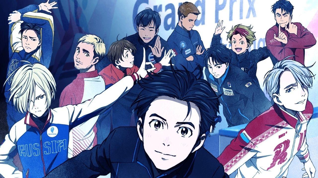 スケートアニメ『ユーリ!!! on ICE』ライバル選手8人公開!キャストには細谷佳正さん、宮野真守さんら出演