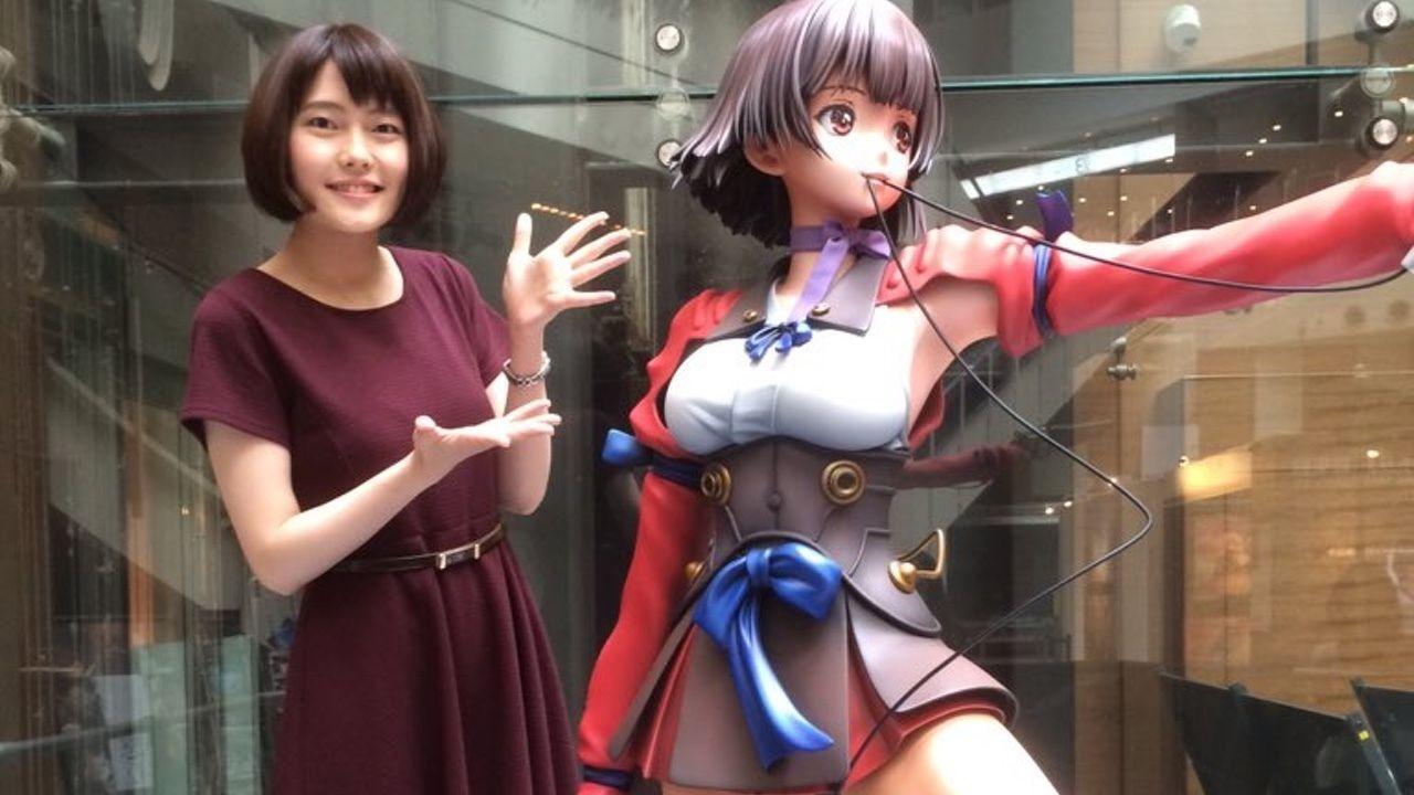 『カバネリ&バッテリー展』等身大無名は「アニメ史上最高額」!?限定で手に入れられるかも!?