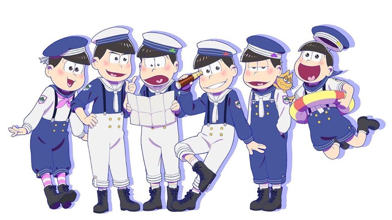 『おそ松さん』6つ子が夏の装いで新グッズに!マリンセーラー松はいかがですか?