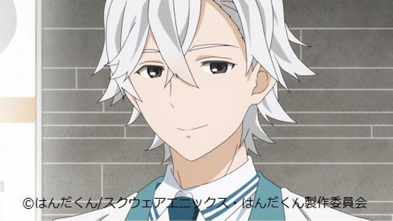 アニメ『はんだくん』ついに白服登場!キャストは鈴村健一さん、羽多野渉さんらに決定!