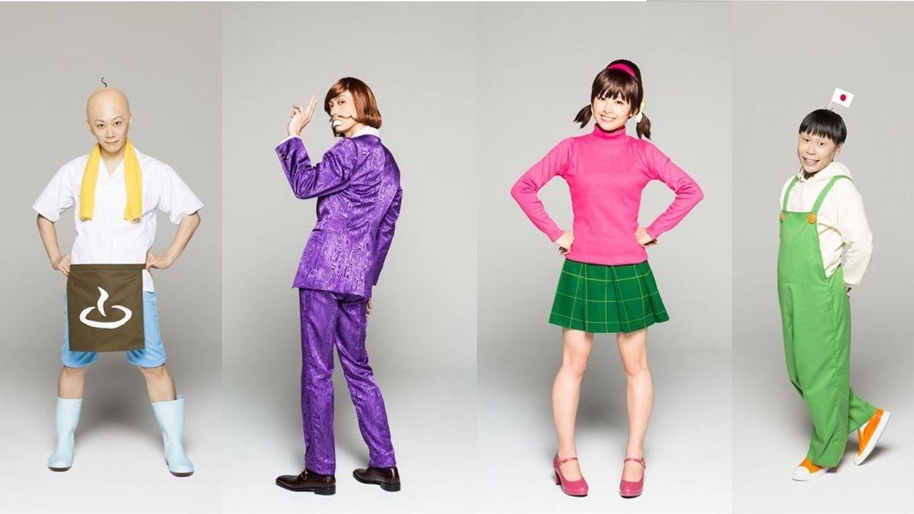 舞台『おそ松さん』の個性豊かなサブキャラクターのビジュアル到着!本日よりCMも公開!