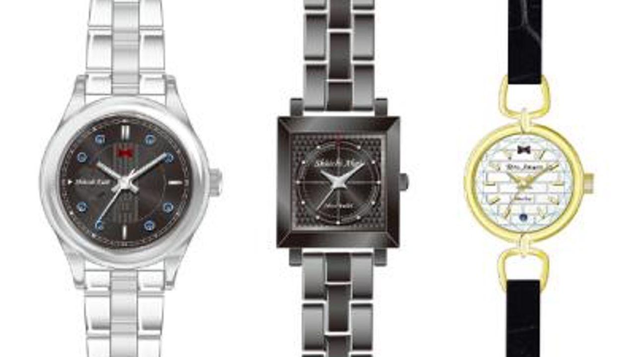『名探偵コナン』新一、赤井、安室をモデルにした3種類の腕時計!どれを選びますか?