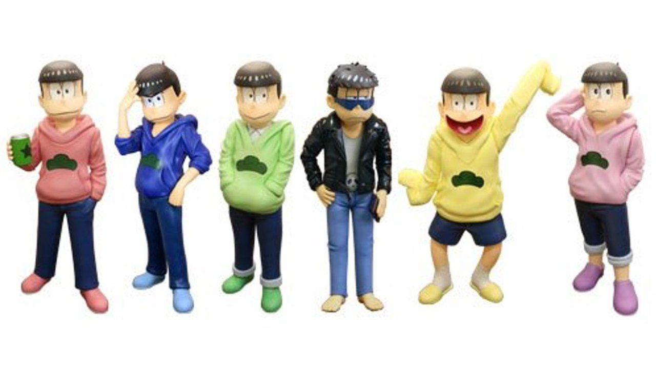 「松の市 inTGC」で『おそ松さん』等身大フィギュアが展示で6つ子勢揃い!あれ?一人だけ衣装が…