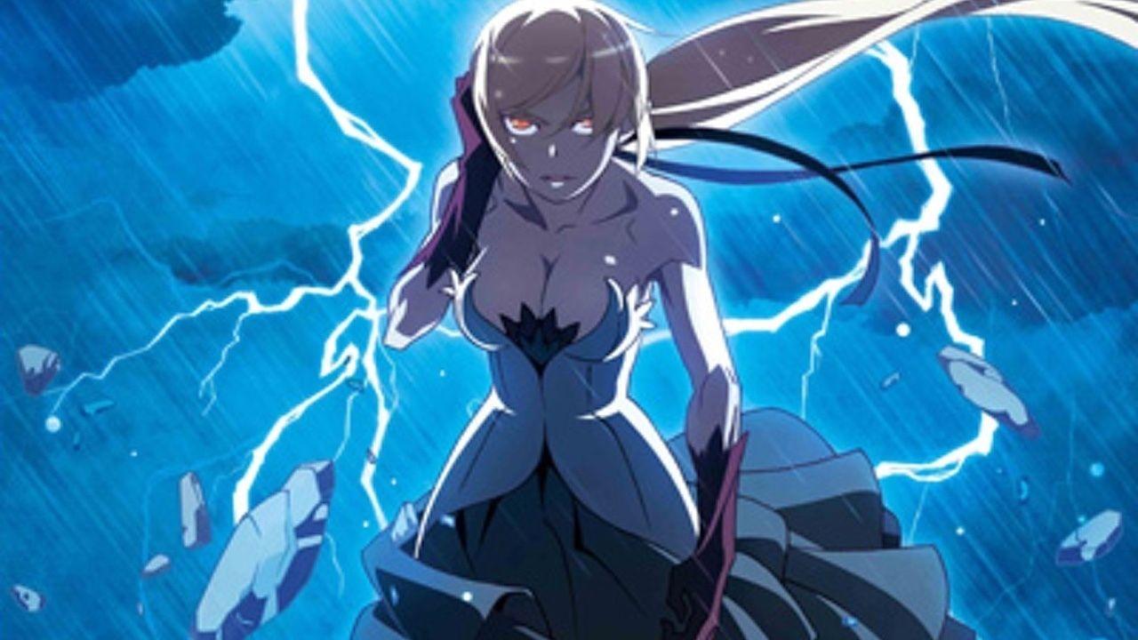 『傷物語〈Ⅱ熱血篇〉』来場特典「混物語」から「刀語シリーズ」より否定姫が登場!