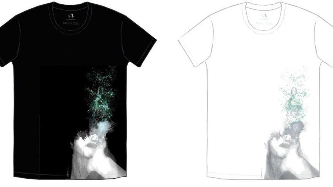『東京喰種』の石田スイ先生と「凛として時雨」のTKさんとコラボしたTシャツが登場!黒派?白派?どっちがいい?