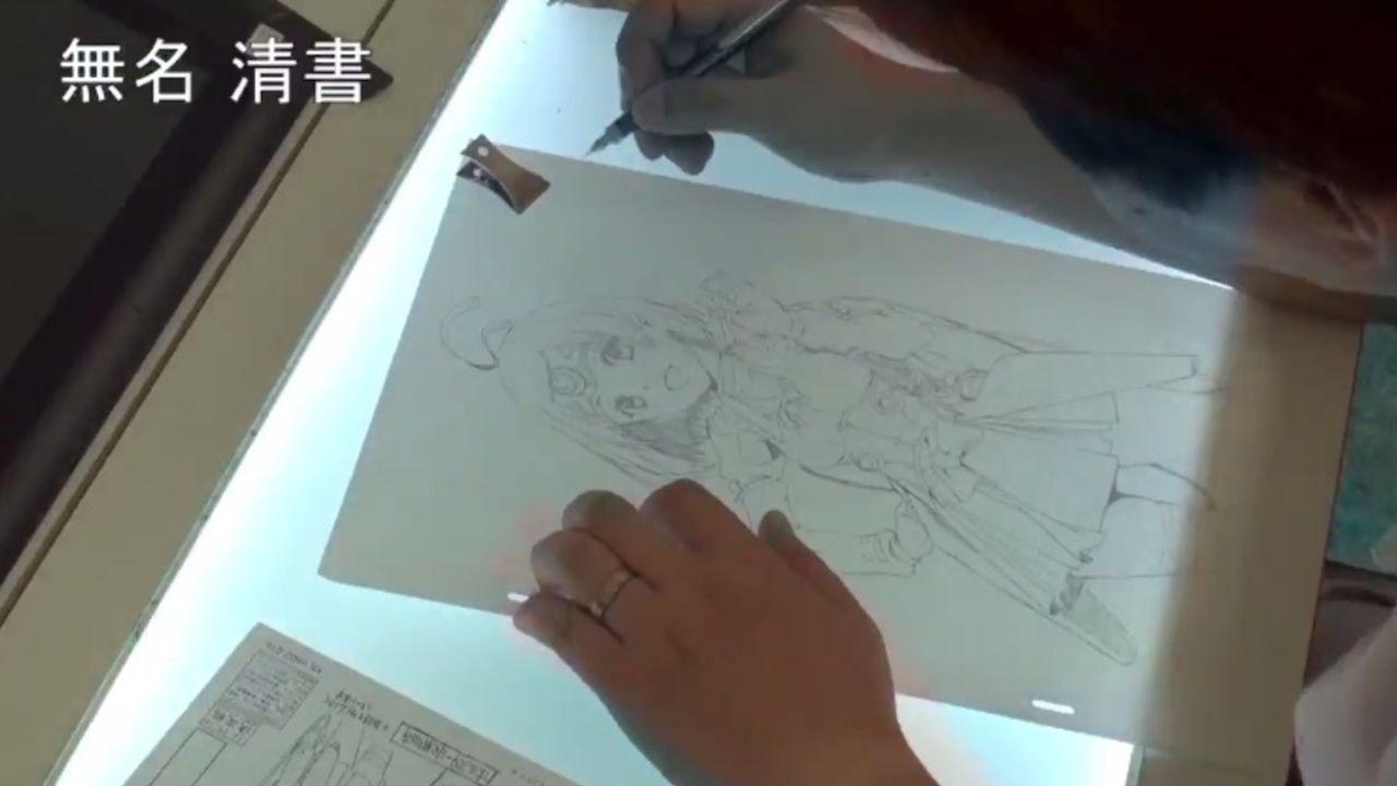 『進撃の巨人』アニメーター浅野恭司さんの作業風景公開!ペン一本でキャラが産まれる まさに巧の技術!