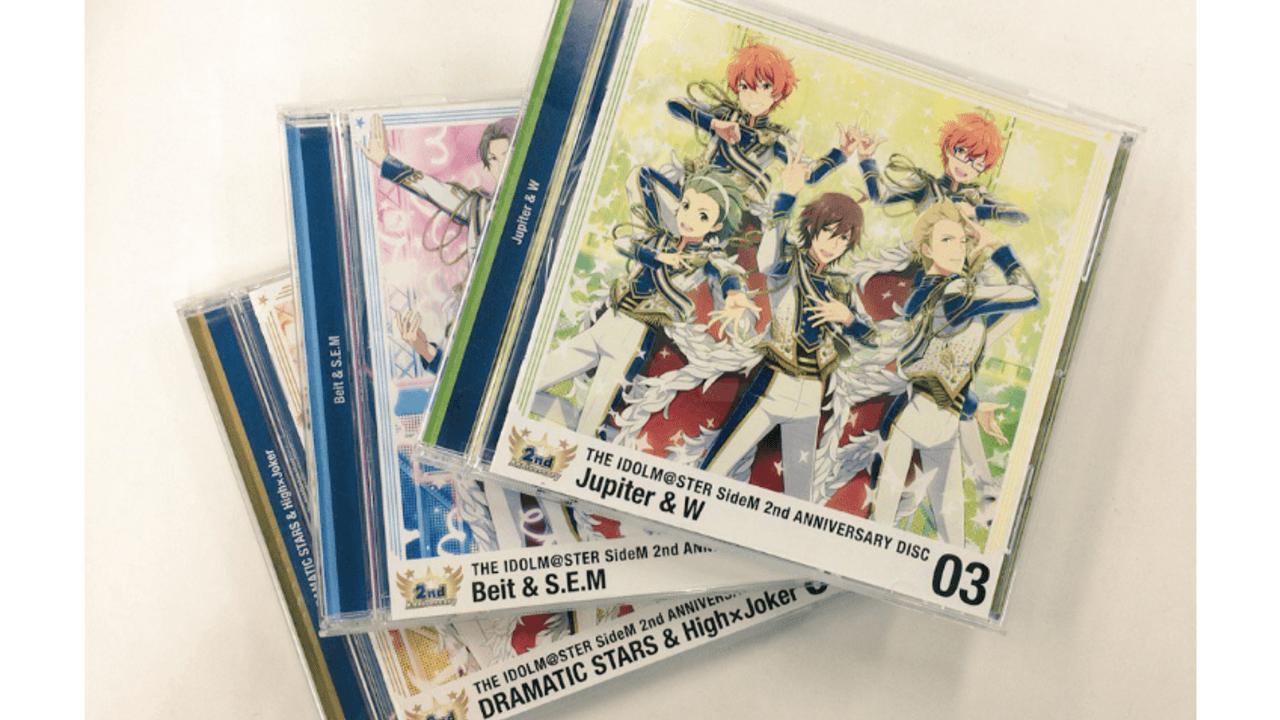 『アイマスSideM』2周年アニバーサリーCDの3枚目のサンプルが完成!