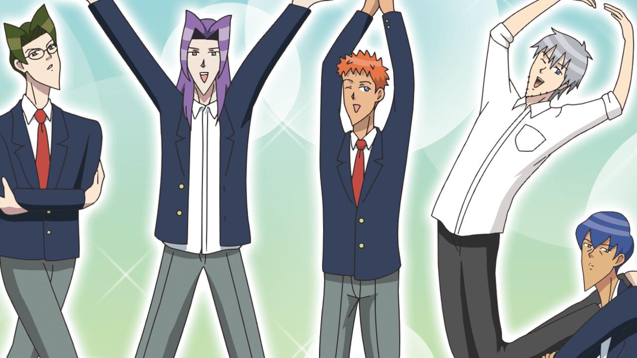 あのハンサムな彼らが動いている…!TVアニメ『学園ハンサム』PVが公開!主題歌CDも発売決定!
