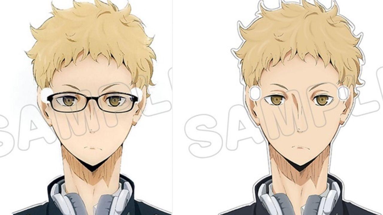 『ハイキュー!!』月島蛍のメガネを手持ちのメガネにかけることができる!アクリルメガネスタンドで楽しくメガネライフ!