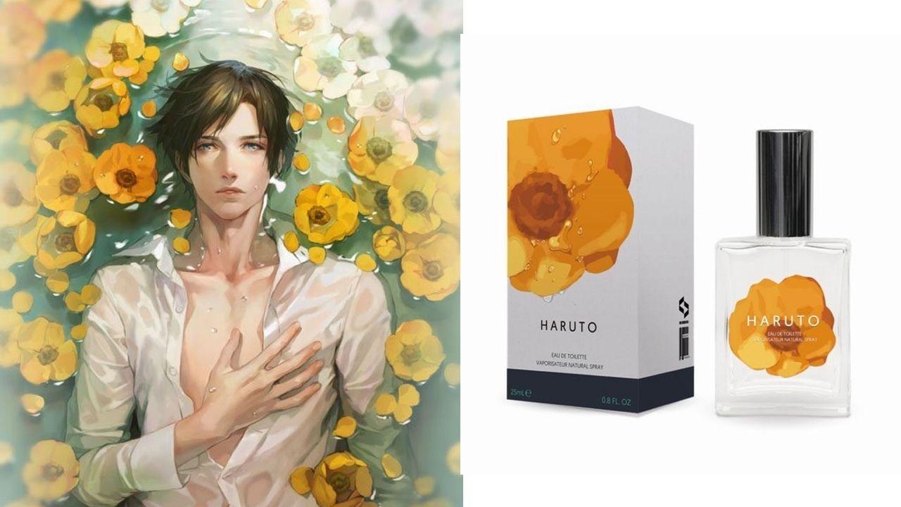発売後すぐに完売した『囚われのパルマ』 ハルトの香水が待望の再販決定!予約受付も予定!