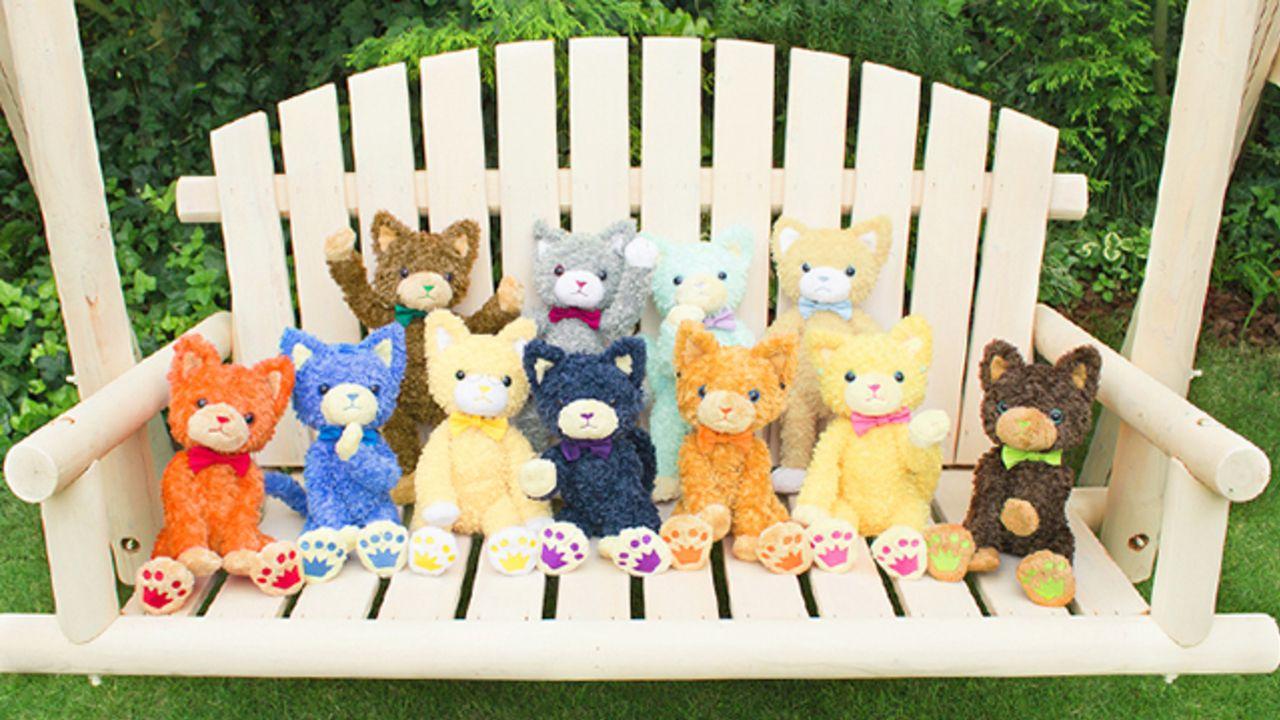 猫はズルい!『うたプリ』より新しいお友達「PRINCE CAT」が仲間入り!ぬいぐるみでお手元に
