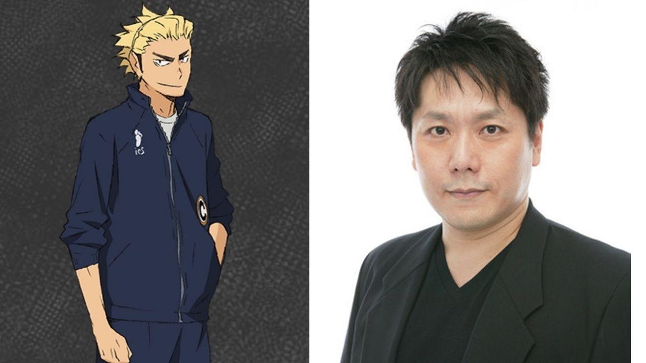 アニメ『ハイキュー!!』で烏養繋心役を務めた声優・田中一成さん(享年49歳)脳幹出血のため急逝。