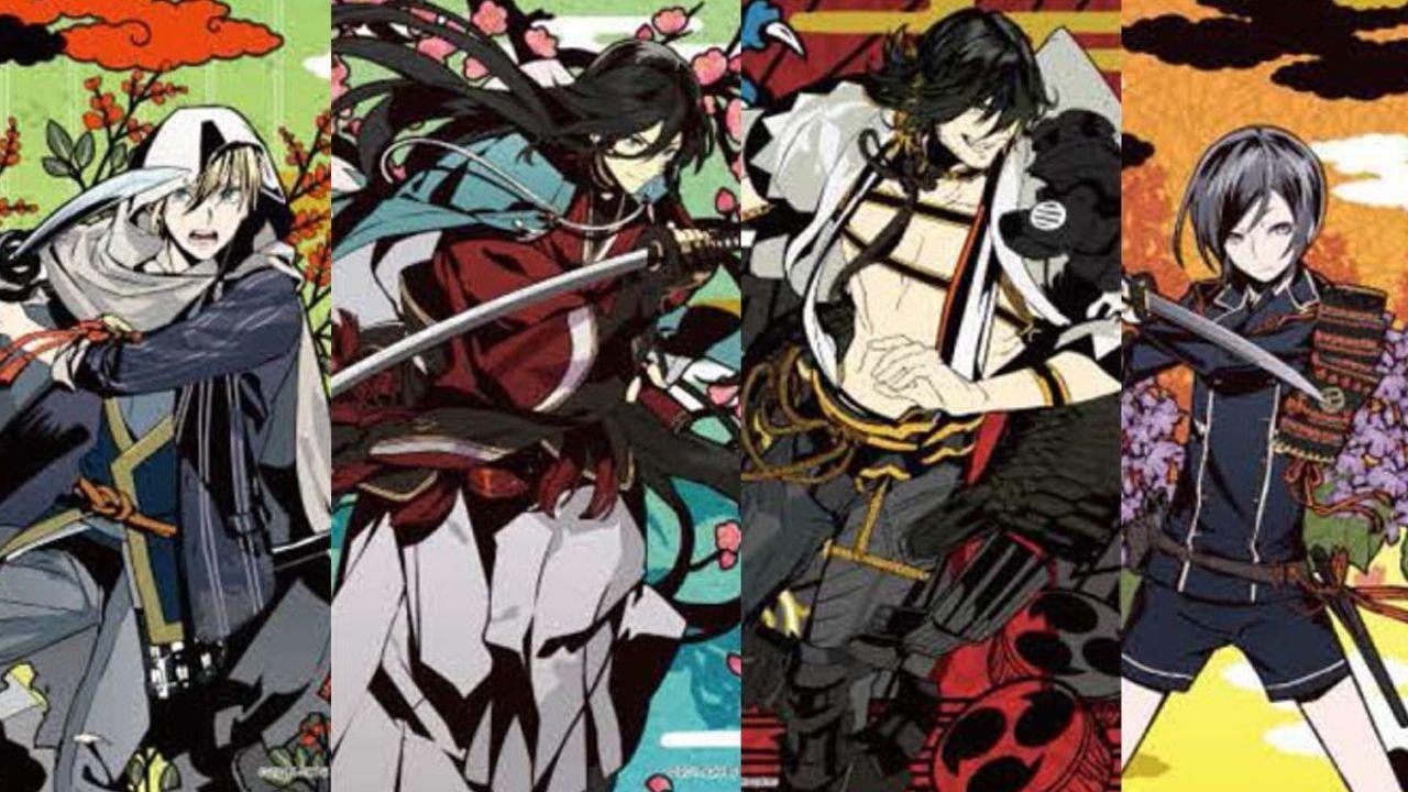 花札×『刀剣乱舞』の和風ステンドグラス!光を通すジグソーパズル第5弾に4振りの刀剣男士が参加!